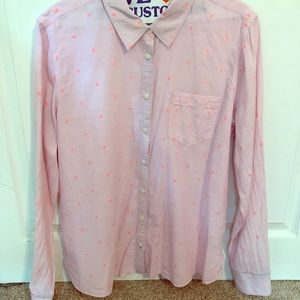 Stylus long sleeve button down pink 🌸🌸🌸